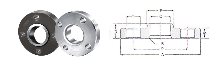 Lap Joint Flanges Pipe Fittings